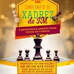 Abertas as inscrições para o 1° Torneio de Xadrez do Instituto de Matemática