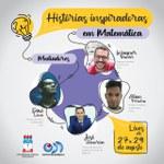 """Instituto de Matemática divulga evento de extensão """"Histórias Inspiradoras de Matemática"""""""