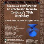 Professor Gregório Manoel Silva Neto será palestrante na Manaus Conference to Celebrate Renato Tribuzy's 75th Birthday