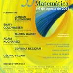 Professores do Instituto de Matemática, atuantes no Corpo Docente do Programa de Pós-Graduação, Ministrarão Palestra no 33° Colóquio Brasileiro de Matemática